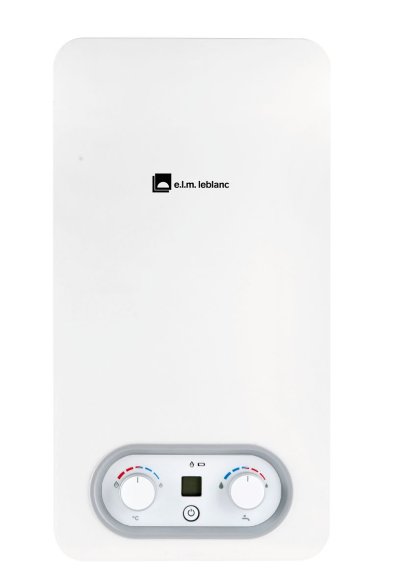 Chauffe-bain gaz bas Nox Ondea Hydropower LC 10-4 PVHYN classe énergétique A/A Réf. 7736504927