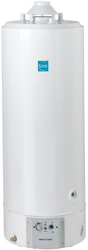 Chauffe eau Styx 290L TES E 30 sans veilleuse chemine sur socle Réf:3500025