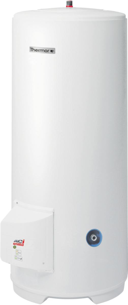 Chauffe-eau thermor duralis 150L ACI hybride vertical sur socle